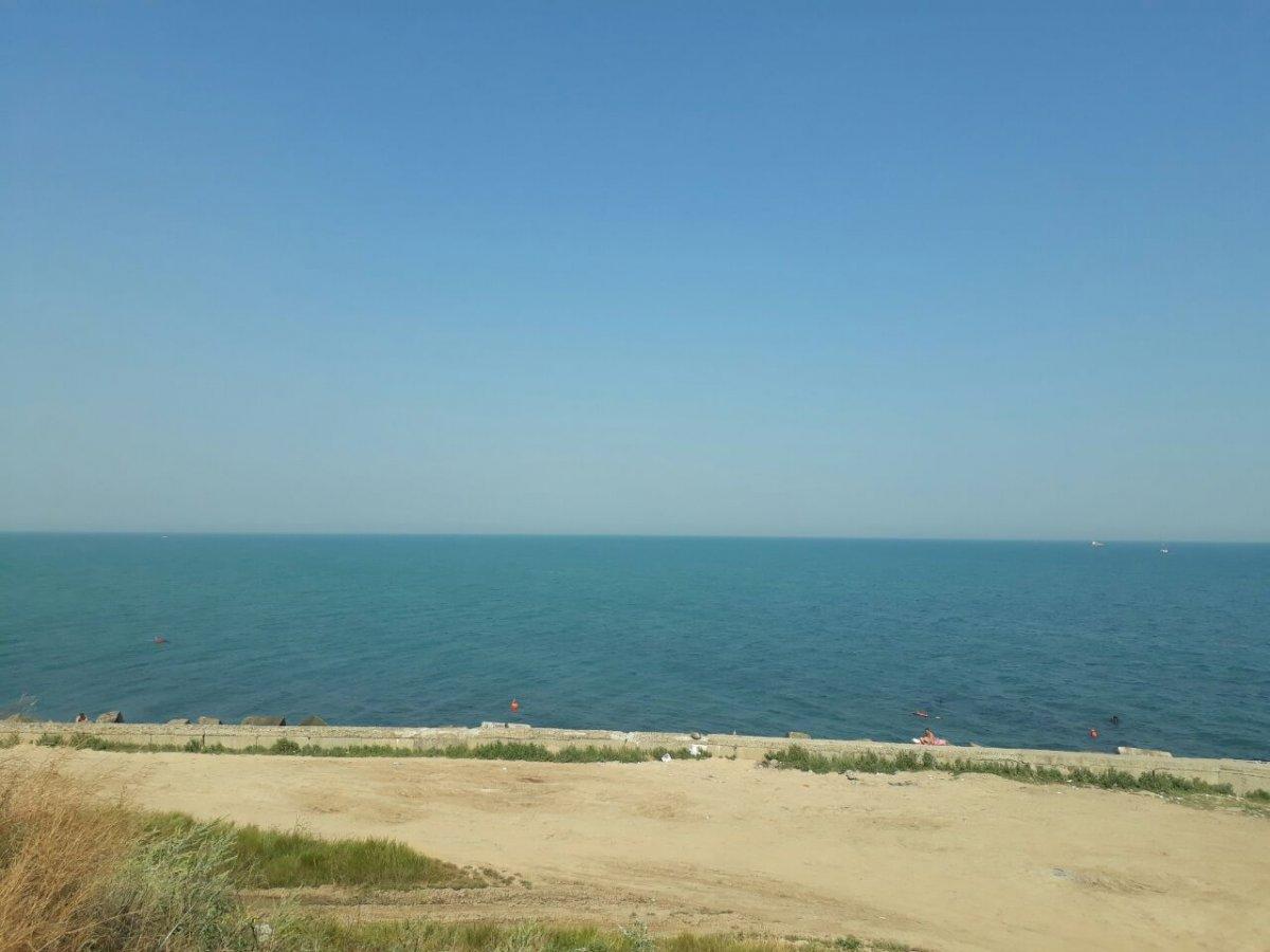Пляж в черноморске фото